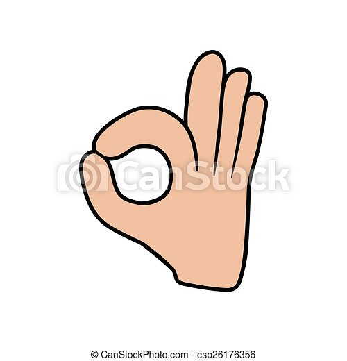 this is an illustration of ok sign clipart vector search rh canstockphoto com ok clipart free ok clipart png