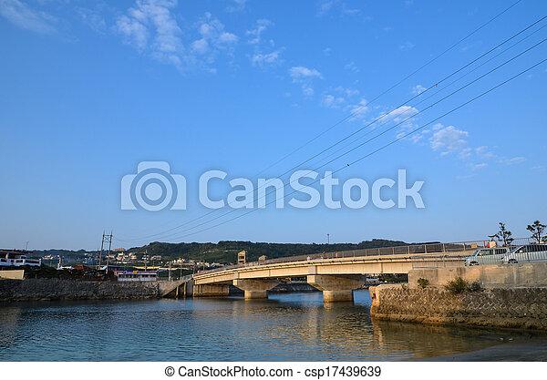Okinawan bridge - csp17439639
