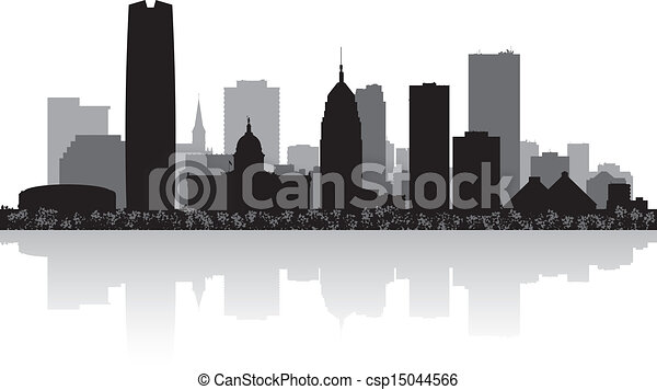 Line Art City : Point perspective city art and