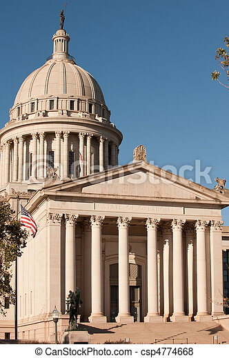 Oklahoma state capitol - csp4774668
