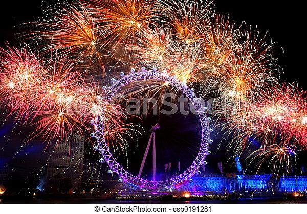 oko londyna - csp0191281