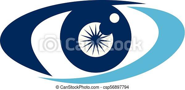 oko, rozłączenia, troska - csp56897794