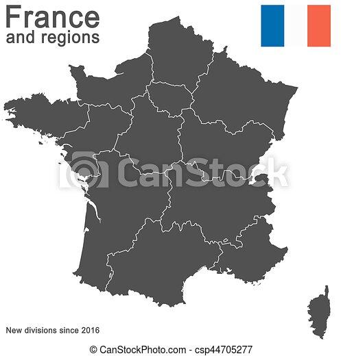 okolice, kraj, since, 2016, francja - csp44705277
