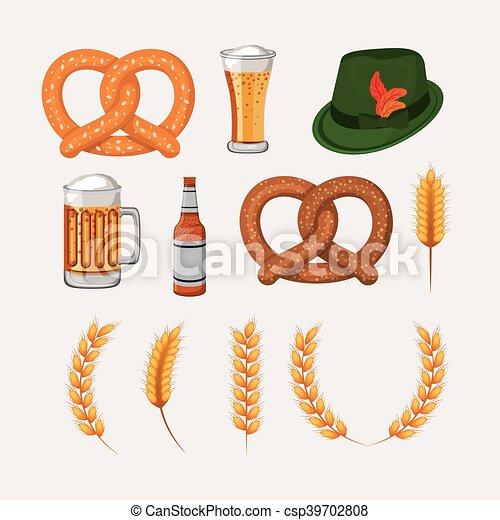 Oktoberfest bier hut laugenbretzel design wohnung for Meine wohnung click design download