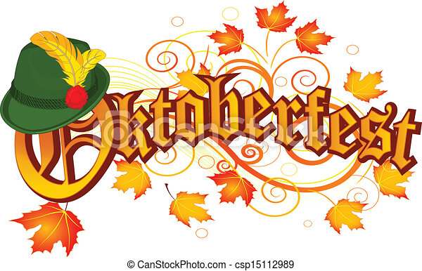 Oktoberfest celebration design - csp15112989