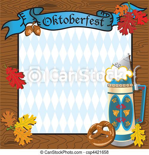 Oktoberfest Party Invitation - csp4421658