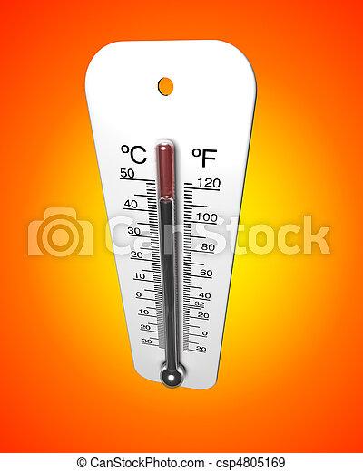 ola de calor - csp4805169