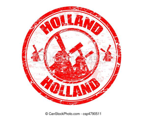 olanda, francobollo - csp4790511