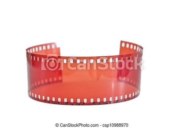 Old 35 mm film - csp10988970