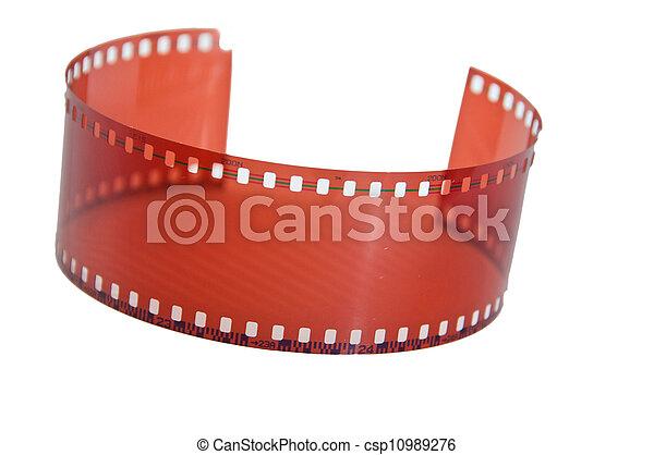 Old 35 mm film - csp10989276