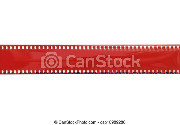 Old 35 mm film - csp10989286