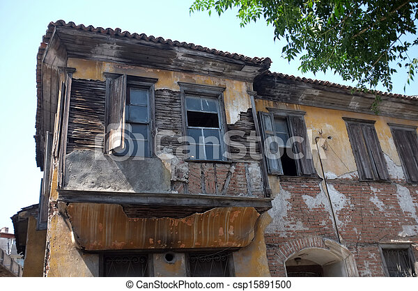 Old abandoned building - csp15891500