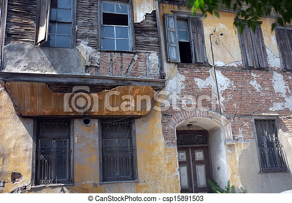 Old abandoned building - csp15891503