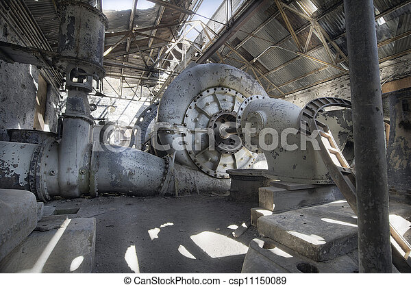 Old Abandoned Electric Power Station - csp11150089