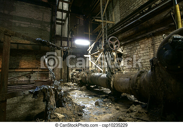 Old abandoned factory - csp10235229
