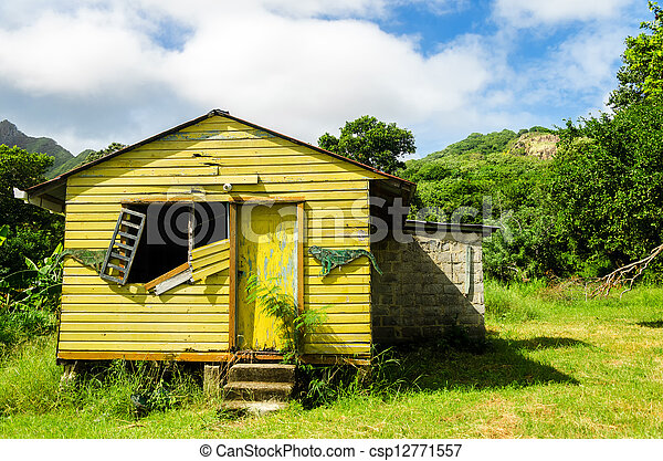 Old Abandoned House - csp12771557