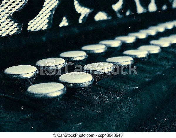 Old Accordion Keys