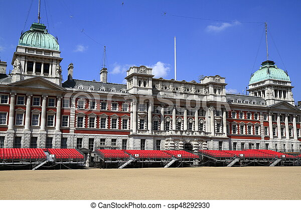 Old Admiralty Building in London - csp48292930