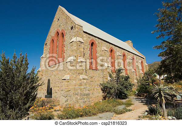Old All Saints Anglican Church in Springbok - csp21816323