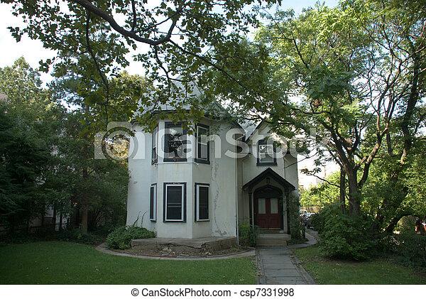old American building - csp7331998