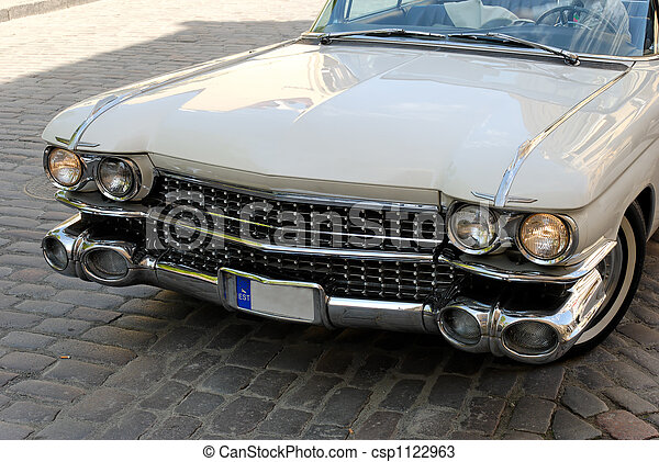 Old American Car - csp1122963