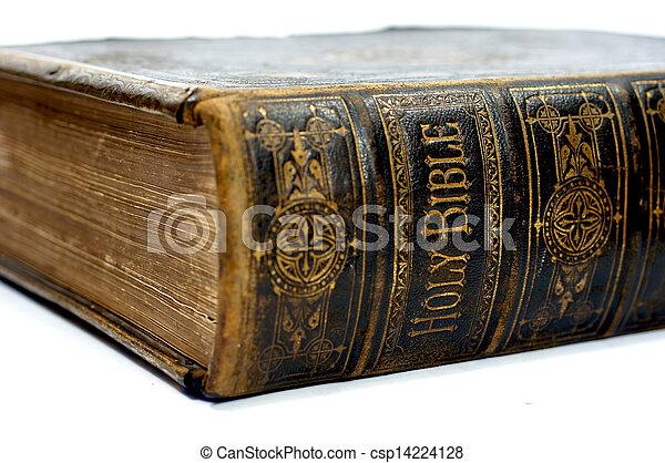 Old ancient bible - csp14224128