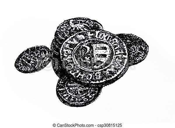 Old and antique coins - csp30815125