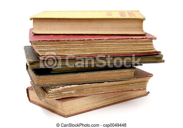 Old Antique Books - csp0049448