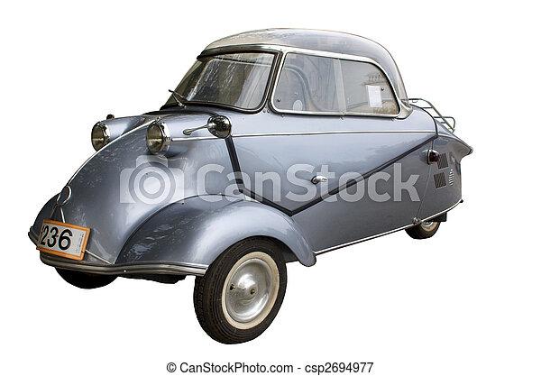 Old antique car - csp2694977