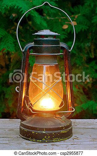 Oil oil antique lamp Gallery of