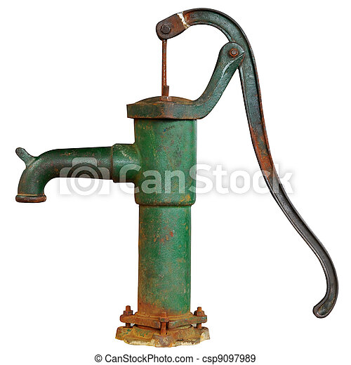 Old Fashioned Manual Water Pump