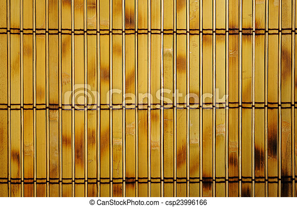 old bamboo background - csp23996166