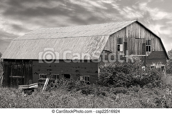 Old Barn in the Country - csp22516924