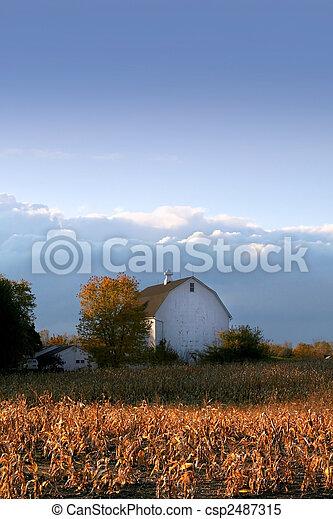 Old Barn - csp2487315