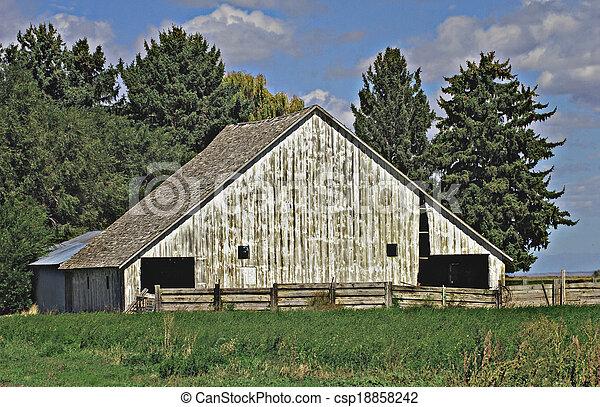 Old Barn - csp18858242
