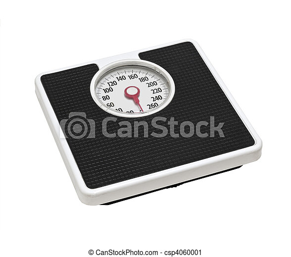 Old Bathroom Scale - csp4060001