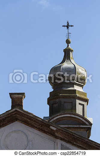 old bell tower - csp22854719