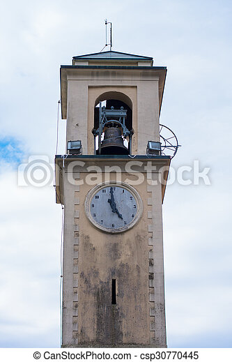 Old bell tower - csp30770445