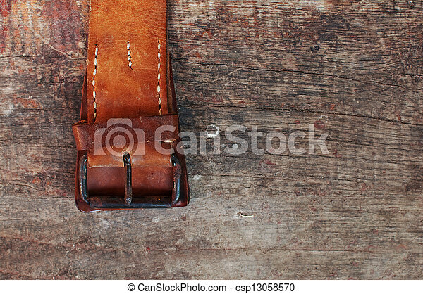 Old belt - csp13058570