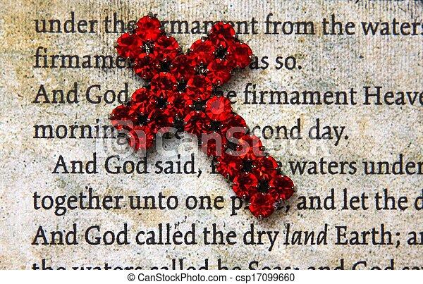 Old Bible - csp17099660
