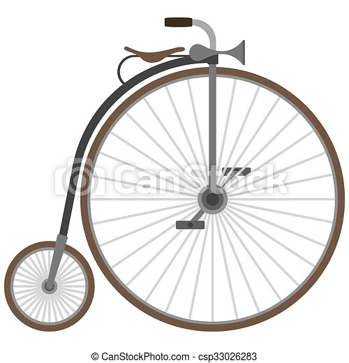 Old bicycle - csp33026283