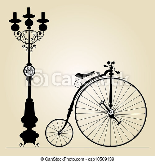 old bicycle - csp10509139