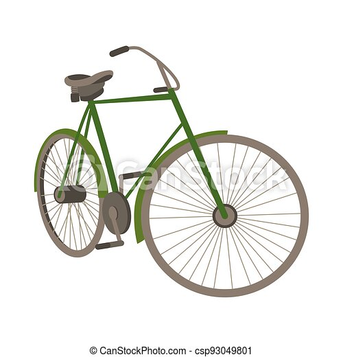old bicycle style - csp93049801