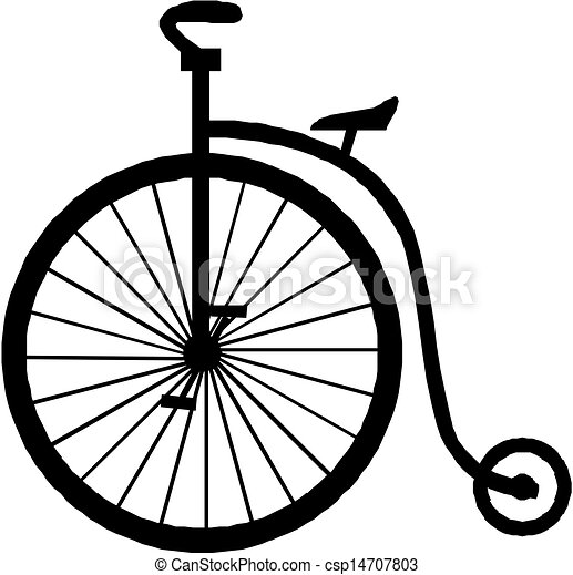old bicycle - csp14707803