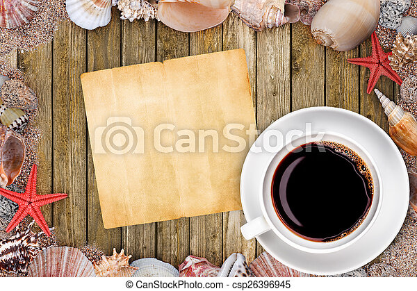 Old blank paper - csp26396945