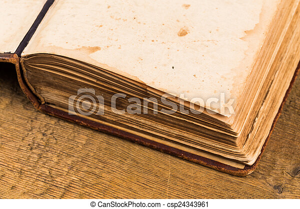 Old book pages - csp24343961