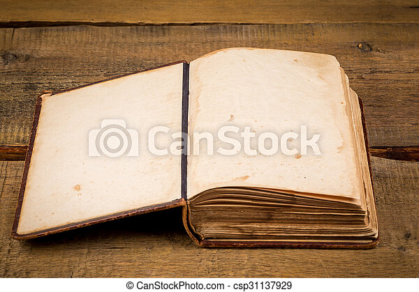 Old book pages - csp31137929