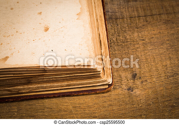 Old book pages - csp25595500