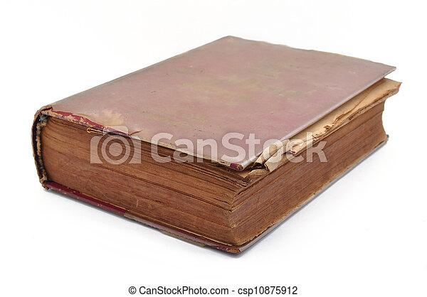 Old Book - csp10875912