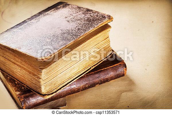 Old Book - csp11353571